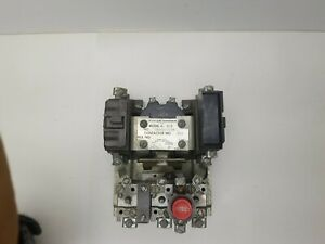 Cutler Hammer 6 3 3 Contactor 805 Single 3 Phase Size 1 Motor Starter Coil A1