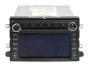 2008 09 Ford Mustang Am Fm Radio Navigation 6 Disc Cd Mp3 Player 8r3t 18k931 Ea
