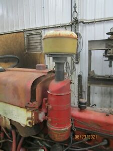 International 504 Utility Oil Bath Air Cleaner Pre cleaner Antique Tractor