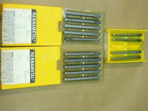 Kennametal Gb3d K6 57637 1 New Carbide Indexable Insert Total Of 14 Pieces