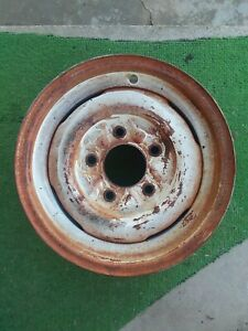 Vintage 60 S Ford Truck 15x5 Steel Wheel Rim With The 5 5 Bp