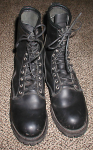 11 D 699 P08 Iso 9001 Used Wildland Fire Fighting Red Wing Boots Welding