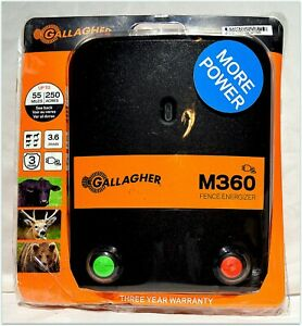 New Open Box Gallagher M360 Electric Fence Energizer