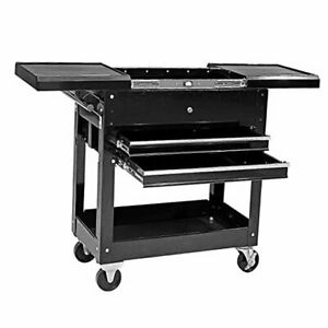 Service Utility Tool Cabinet Cart 350 Lbs 2 350 Lbs Slide Top Service Cart