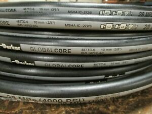 Parker Hydraulic Hose 487tc 6 3 8 50 Two Wire Hose Global Core Tough Cover