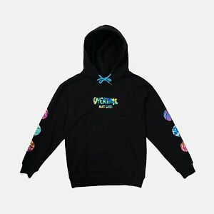Overtime Heat Check Magma Hoodie Size Large $50.00