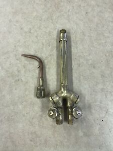 Victor 00 w 1 Brazing Tip Wh270fc v Torch Handle Oxygen acetylene