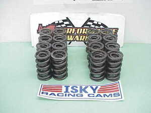 16 Isky 1 560 Roller Cam Dual Valve Springs With Damper Crower Pac Comp