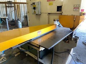 Geka Iron Worker Puma 80 E 500 80 Ton With Cnc Table Controller