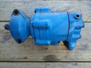 Ford Tractor 801 841 861 641 Hydraulic Pump Round Piston Style