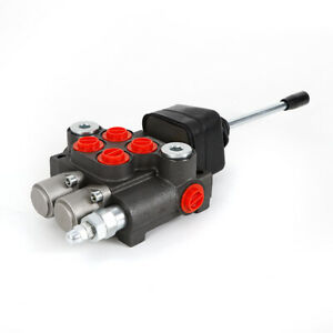 Hydraulic Directional Control Valve 11gpm Double Acting Cylinder Spool 2 Spool