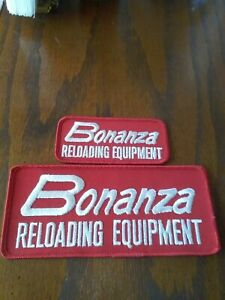 Vintage Embroidered Patch BONANZA RELOADING EQUIPMENT AND others $60.00