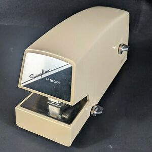Vintage Swingline 67 Electric Heavy Duty Commercial Stapler Tested Working