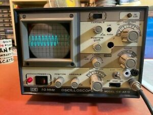 Cie 3310 10mhz Oscilloscope Holy Scope works Great excellent