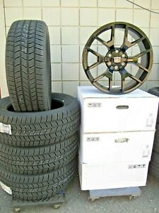 20 New Cadillac Escalade Factory Style Gloss Black Wheels With A S Tires 5656n