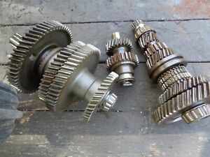 Ford Tractor 800 600 840 640 Transmission Top Bottom Shafts W gears Reverse
