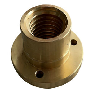 53mm Milling Machine Tools Parts Bushing Z axis Screw Copper Sleeve Brass Nut