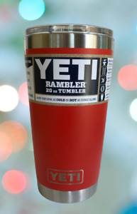 YETI Rambler 20 oz Tumbler Stainless Steel Vacuum Insulated with MagSlider Lid $27.49