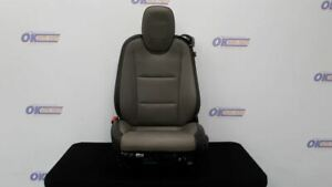 14 Chevy Camaro Ss Front Left Driver Power Heated Seat Black And Gray Leather