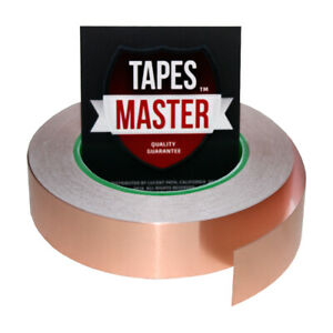 Copper Foil Tape 1 X 36 Yds 12mmx33m Emi Conductive Adhesive Ship From