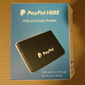 Paypal Here Chip And Card Swipe Reader Brand New