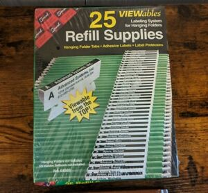 Smead Viewables Labeling System Folder Tabs Refill Supplies 25 Pack 64905