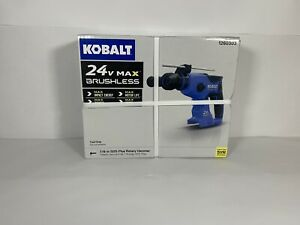 Kobalt 24 volt Max 7 8 in Sds plus Cordless Rotary Hammer Drill tool Only New