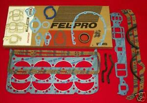 New Sb Sbc Chevy 400 Fel Pro Overhaul Gasket Set Ks2614 260 1016