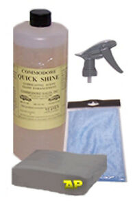 Auto Detailing Clay Bar microfiber quickshine kit R107