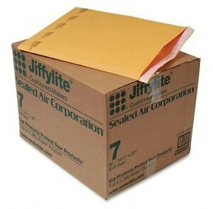 50 7 Jiffylite Bubble Mailers Sealed Air 14 25 X 20