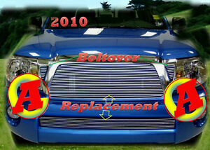05 06 08 09 10 2009 2010 2008 2007 2006 2005 Toyota Tacoma Billet Grille Combo