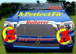 05 09 07 2005 2006 2008 2007 Toyota Tacoma New Billet Grille Combo 4pc 2010