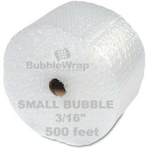 Bubble Wrap 500 Ft X 12 Small Sealed Air 3 16 Best