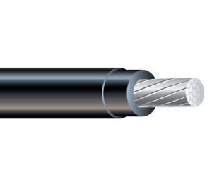 1000 1 0 Awg Aluminum Xhhw 2 600v Building Wire Xlpe Insulation Cable