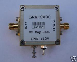 10khz 2000mhz Low Noise Amplifier Lna 2000 New Sma