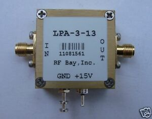 10khz 3000mhz Wideband Rf Amplifier Lpa 3 13 New Sma