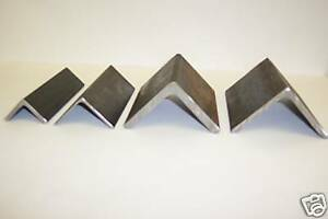 4 X 4 X 1 4 Inch Thick Steel Angle Iron