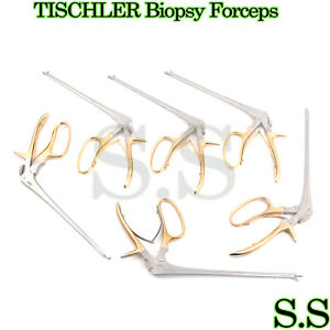 6 Baby Tischler Biopsy Forceps 8 Bite 5x8mm Gynecology Surgical