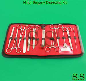 New Minor Surgery Dissecting Kit Surgical Instruments