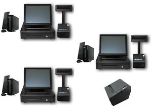 Three Station Pos System Quickserve Restaurant Config