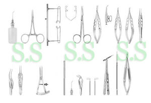 Glaucoma Surgery Set Ophthalmic Surgical Instruments Ey 045