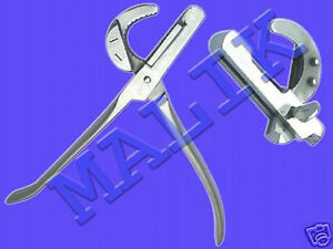 Emasculators Surgical Veterinary Instruments 8 d crush