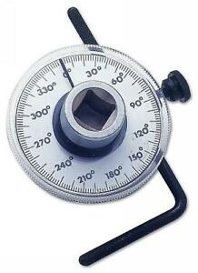 Torque Angle Gauge Tool 1 2 Drive Easy To Read Dial