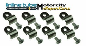 5 16 Stainless Fits Brake Line Clips Clamps Dune Buggy Street Rod Lifted Jeep