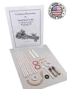 South Bend Lathe 10k Rebuild Manual And Parts Kit light 10