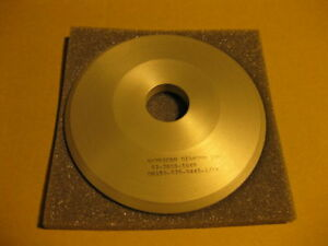 Diamond Grinding Wheel 15a2 Saucer 6 X 3 4 X 1 1 4 150 Grit New