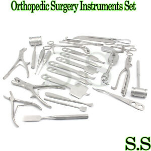 Orthopedic Surgery Instruments Set Bone Drill Bone Saw