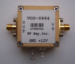 951 977mhz Voltage Controlled Oscillator Vco 0964 Sma