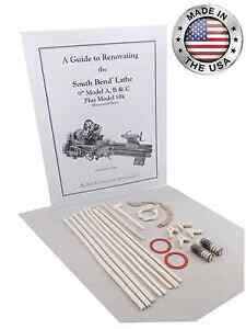 South Bend Lathe 9 Model B Rebuild Manual And Parts Kit
