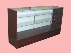70 Cherry Full Vision Showcase Display Store Fixture Knocked Down Case sc6c